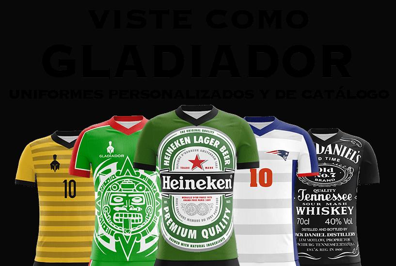 Uniformes Gladiador - Uniformes de Futbol 627209cfe8fae