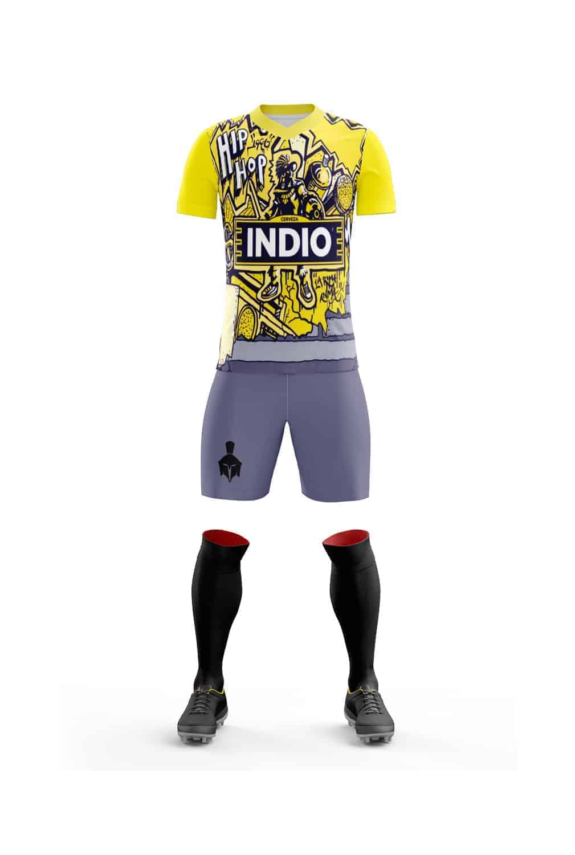 Uniforme de Futbol Cerveza Indio Azul - Gladiador a42aa1a4027f6