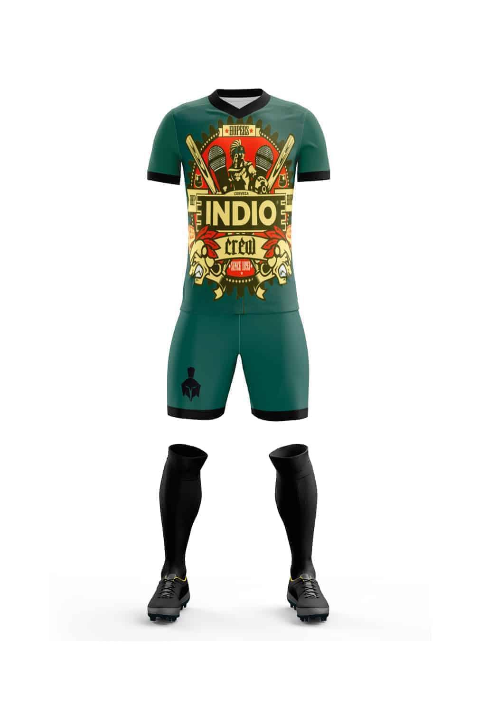 55f568751a4 Uniforme de Futbol Cerveza Indio Verde - Gladiador